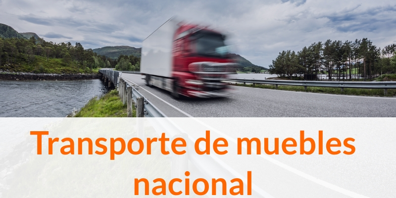 Transporte de muebles nacional